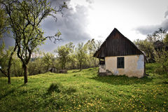 Traditional house in romania Royalty Free Stock Photography