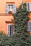 Traditional house Rome Italy Stock Images
