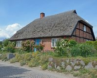 Traditional House,Ruegen island,Baltic Sea,Germany Stock Images