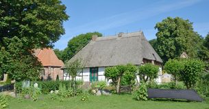 Traditional House,Ruegen island,Baltic Sea,Germany Stock Photography