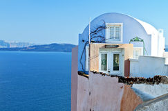 Traditional house at Santorini, Greece Stock Photography