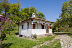 Traditional house in Serbia Stock Image