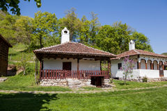 Traditional house in Serbia Royalty Free Stock Photo