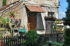 Traditional house in Sighisoara, Romania Stock Photography