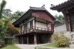 Traditional House,South Korea Royalty Free Stock Photography