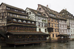 Traditional house in strasbourg Royalty Free Stock Images
