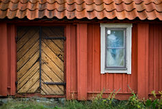 Traditional house in Sweden, Europe Stock Image