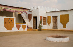 Traditional house in Thar desert Royalty Free Stock Photos