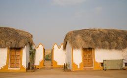 Traditional house in Thar desert stock images