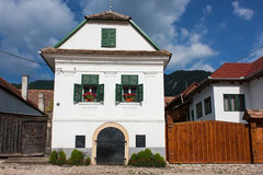 Traditional house in Transylvania. Traditional szekely house in Rimetea/Torockó, transylvania Royalty Free Stock Photo