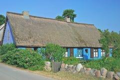 Traditional House,Usedom Island,baltic Sea,Germany Stock Photography