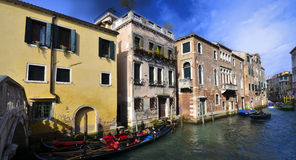 Traditional house in Venice Stock Photos