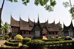 Traditional house on West Sumatra, Indonesia Royalty Free Stock Photo