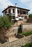 Traditional house from Zlatograd, Bulgaria Royalty Free Stock Photos