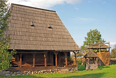 Traditional household from transylvania Royalty Free Stock Images