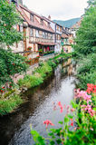 Traditional houses in alsace Royalty Free Stock Image
