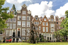 Traditional Houses, Amsterdam, Holland Stock Photography