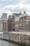 Traditional houses Amsterdam, Netherlands Stock Image