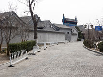 Traditional houses in Beijing Stock Photos