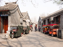 Traditional houses in Beijing Royalty Free Stock Photography