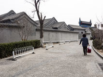 Traditional houses in Beijing Royalty Free Stock Image