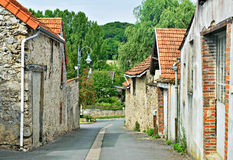 Traditional houses in Champagne-Ardenne Stock Photography