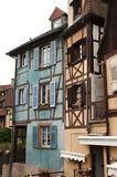 Traditional houses in Colmar Stock Image