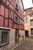 Traditional houses in Colmar Stock Images