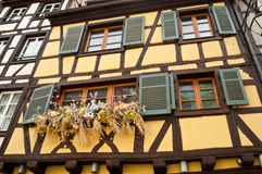 Traditional houses in Colmar Royalty Free Stock Photo
