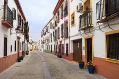 Traditional Houses in Cordoba Stock Photography