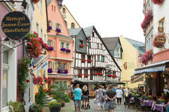 Traditional houses in germany Stock Images