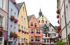 Traditional houses in germany Royalty Free Stock Images