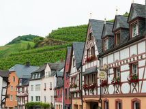 Traditional houses in germany Stock Photo