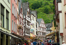 Traditional houses in germany Royalty Free Stock Photos