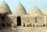 Houses in Harran Stock Image
