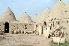 Houses in Harran Stock Photo