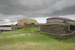 Traditional houses of Iceland Royalty Free Stock Photography