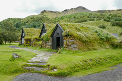 Traditional houses in Iceland Royalty Free Stock Photo