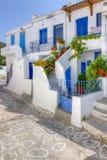 Traditional houses in Kimolos island, Greece Stock Image