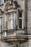 Traditional houses in Krakow, Poland Royalty Free Stock Photography