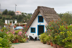 Traditional houses in Madeira, Portugal Stock Photography