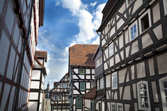 Traditional houses in Marburg Royalty Free Stock Photo