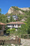 Traditional houses in Melnik, Bulgaria Stock Photos