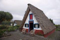 Traditional houses of Santana, Madeira, Portugal Stock Image