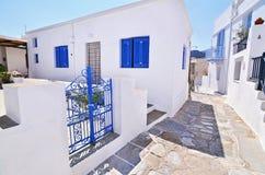 Traditional houses Sifnos island Greece stock image