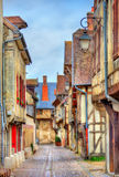 Traditional houses in Troyes, France Royalty Free Stock Photos