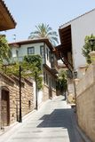 Traditional houses in Turkey stock image