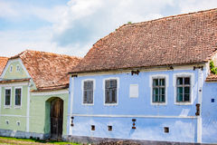 Traditional houses in Viscri Stock Photo
