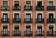 Free Traditional Housing Building In Lavapies In Madrid Stock Photos - 127216333