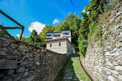 Traditional housing in Vizitsa Royalty Free Stock Image